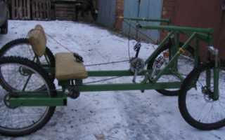 Трёхколёсный велосипед своими руками: чертежи, фото, видео