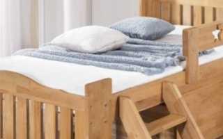 Проект кровати с бортиком (чертежи, процесс сборки)