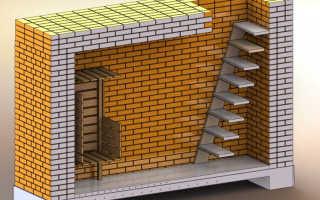 Лестница в подвал на металлическом каркасе своими руками