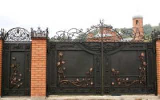 Кованые ворота: процесс создания, особенности