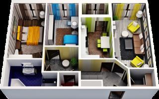 Главные преимущества трехкомнатных квартир от застройщика