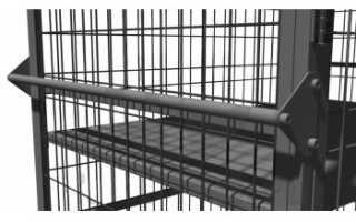 Сетчатые металлические шкафы для складов