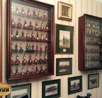 Выбор витрин для организации домашнего музея