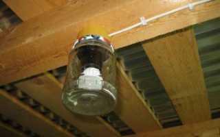 Самодельный светильник из банки своими руками