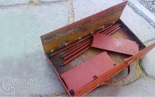 Самодельная разборная мангал-решетка своими руками