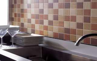 Укладка плитки на кухне: фартук пошагово фото