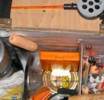Самодельный рыболовный ящик своими руками