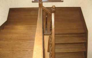 Деревянная лестница из сосны своими руками за 9 дней