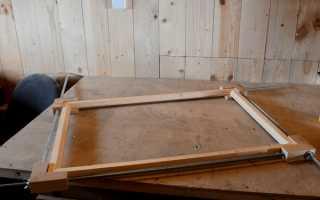 Самодельное приспособление для склеивания рамки с углами в 90 градусов
