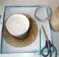 Плетеные корзинки из бумажного шпагата своими руками (фото, мастер-класс)