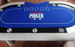 Самодельный покерный стол