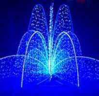 Декоративное освещение улиц и новогоднее оформление витрин