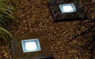 Грунтовые светильники: виды и сферы применения