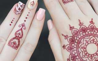 Временная татуировка своими руками в домашних условиях