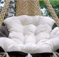 Кресло гамак своими руками: мастер класс