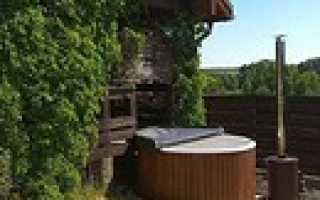 Монолитная бетонная купель для бани своими руками
