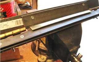 Листогиб своими руками: фото и описание изготовления