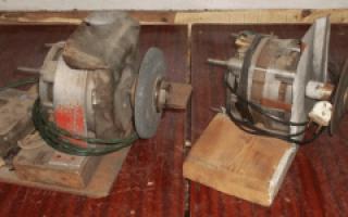 Точило из двигателя от стиральной машины: фото, описание