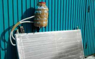 Самодельный солнечный коллектор для нагрева воды: фото изготовления