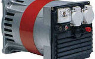 Работа асинхронного двигателя в режиме генератора
