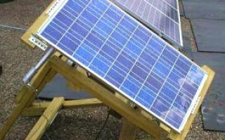 Как самому сделать солнечную батарею: фото изготовления
