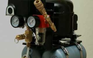 Самодельный гаражный компрессор из компрессора от старого холодильника