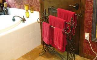 Оригинальная идея для хранения полотенец