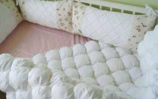 Как сделать детскую кроватку новорождённого: размеры