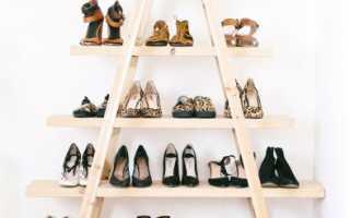 Этажерка для обуви своими руками (чертежи, схемы, фото)