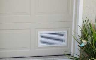 Очиститель воздуха для гаража своими руками