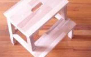 Лестница-стул своими руками (фото)