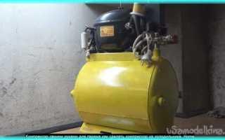 Самодельный компрессор для гаража: фото и описание