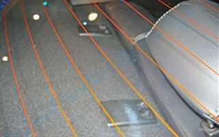 Тепловентилятор для обогрева заднего стекла автомобиля