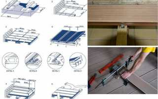 Правила установки палубной доски на лаги