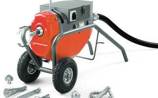Электрическая машина для прочистки канализации