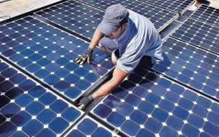 Солнечная электростанция своими руками: фото сборки