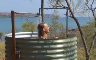 Летний душ для дачи своими руками: пошаговая постройка с фото