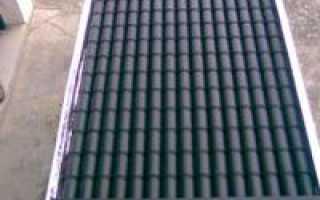 Солнечный коллектор из алюминиевых банок своими руками