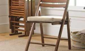 Как сделать складной стул: чертежи, фото, схема сборки