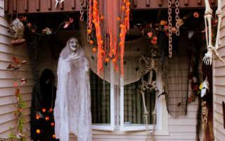 Почти настоящее привидение на Хэллоуин (мастер-класс)