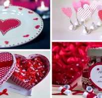Баночка признаний в День Святого Валентина своими руками