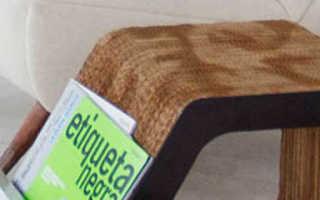 Делаем оригинальное книжное кресло своими руками (мастер-класс, фото, чертежи)