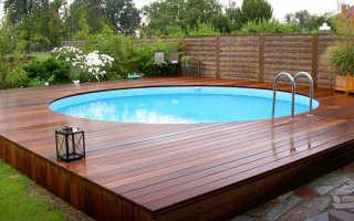 И снова бассейн на даче!