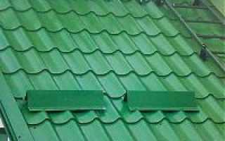 Назначение снегозадержателей для крыш