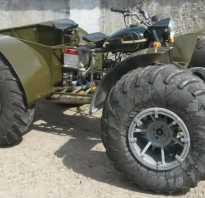 Самодельный гусеничный вездеход из мотоцикла «Днепр»