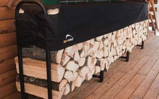 Домик для дров или как сделать поленницу