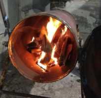 Печь из двух газовых баллонов: фото и описание самоделки