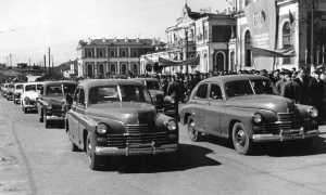 Реставрация автомобиля ГАЗ М-20 Победа (25 фото)