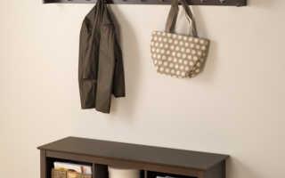 Вешалка для одежды своими руками: 14 идей вешалки