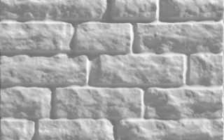 Декоративная кирпичная стена из пенопласта своими руками